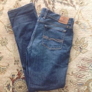LUCKY BRAND CHARLIE STRAIGHT SIZE 10/30 ANKLE JEAN